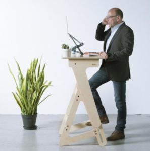 a stand up desk would be a good addition to your office