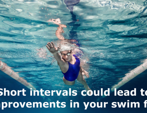 Short intervals could lead to big improvements in your swim fitness